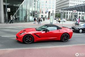 Corvette C7 Cabriolet : chevrolet corvette c7 stingray convertible 27 june 2014 autogespot ~ Medecine-chirurgie-esthetiques.com Avis de Voitures