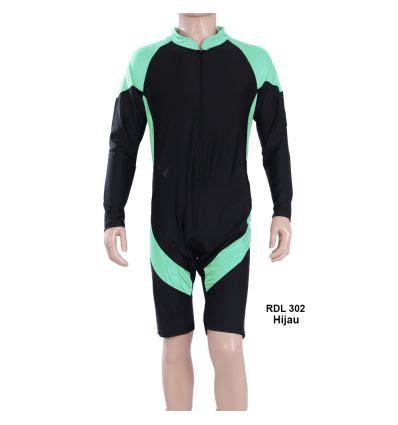 baju renang pria rizqy rdl 302 hijau