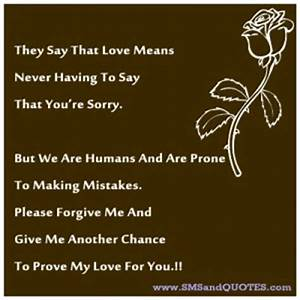 Forgive Me My Love Quotes. QuotesGram