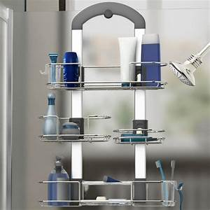 porte accessoires suspendu pour la douche plomberie artika With accessoire porte de douche