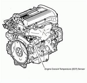 Where Is The Coolant Temperature Sensor Located On A 2003