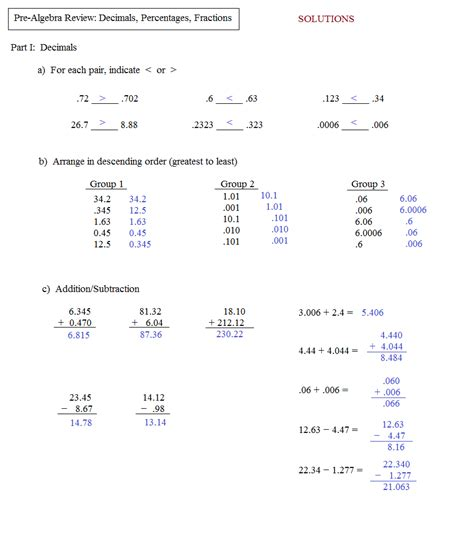 basic algebra review worksheet worksheets for all