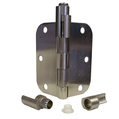 hinge pin door stop express products pewter satin nickel adjustable bumper