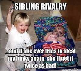 Funny Sibling Memes - funny sister quotes rivalry quotesgram