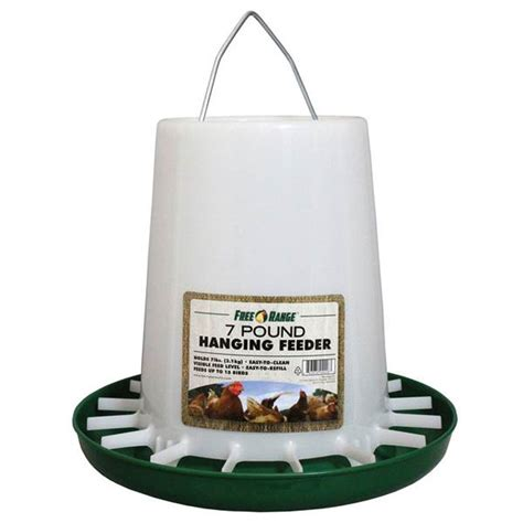 Hanging Feeder For Chickens by Harris Farms Free Range Hanging Poultry Feeder
