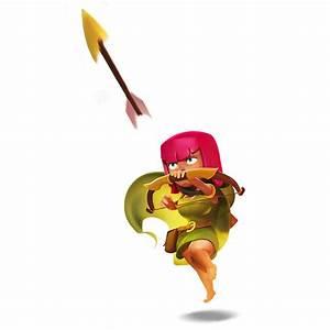 Archer Level 7 Clash Of Clans | www.pixshark.com - Images ...