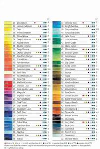 Derwent Colored Pencil Chart Amazon Com Derwent Water Color Pencils Watercolor