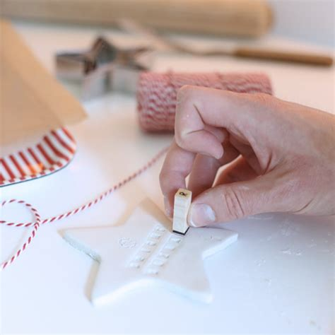 how to make stylish clay christmas ornaments bright