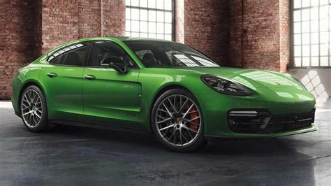 porsche exclusive dresses  panamera gts  mamba green