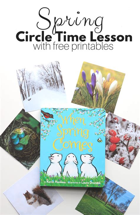 when comes preschool lesson plan with free printable 207 | when spring comes circle time lesson for preschool 3