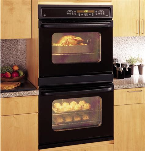 ge  built  double wall oven jtpbdbb ge appliances