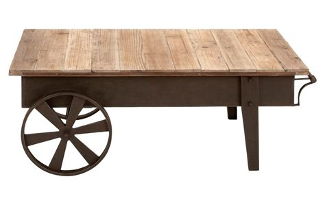 wooden table with wheels picture of wooden coffee table with decorative wheels and