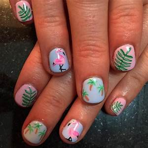 21+ Palm Tree Nail Art Designs, Ideas | Design Trends ...