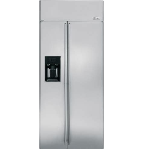 zissdxss ge monogram  built  side  side refrigerator  dispenser  monogram