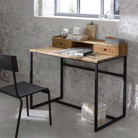 bureau bois et metal bureau industriel 14 id 233 es d 233 co en bois et m 233 tal