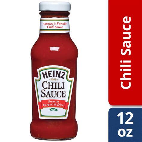 (3 Pack) Heinz Chili Sauce, 12 oz Bottle - Walmart.com ...