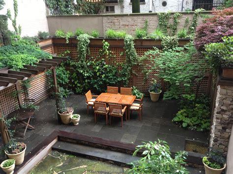 Nyc Backyard by Backyard Designed By Greenery Nyc Outdoor Living