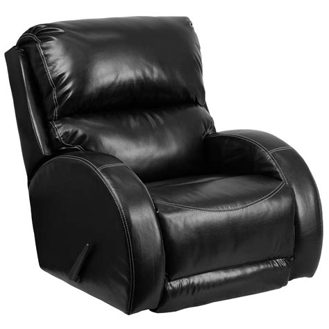 Designer Recliners by Nicoletti Leather Rocking Recliner