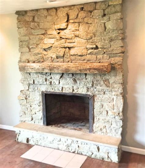 How To Add A Mantel To A Stone Fireplace Droughtrelieforg
