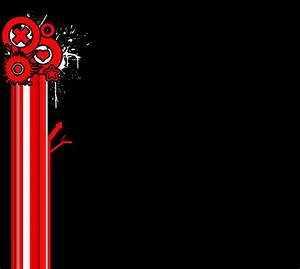 Red+Black myspace background by Rose-Coloured-Bullet on ...