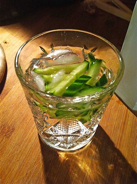 gin tonic mit gurke gin tonic gurke 224 la julienne philoup chefkoch de