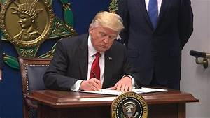 Trump Signs Order Suspending Admission of Syrian Refugees ...