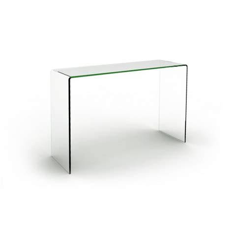Table Console En Verre Transparente Joan