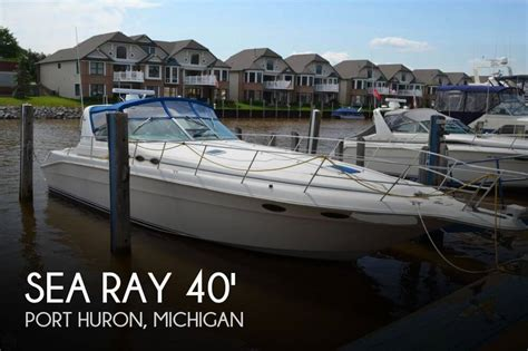 Boats For Sale In Port Huron Michigan by Canceled Sea 400 Express Cruiser Boat In Port Huron