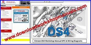 Citroen Ds4 Workshop Repair Manual