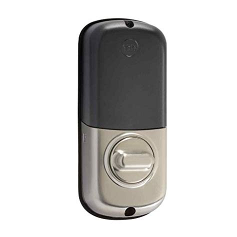 yale real living b1l key free push button deadbolt with z