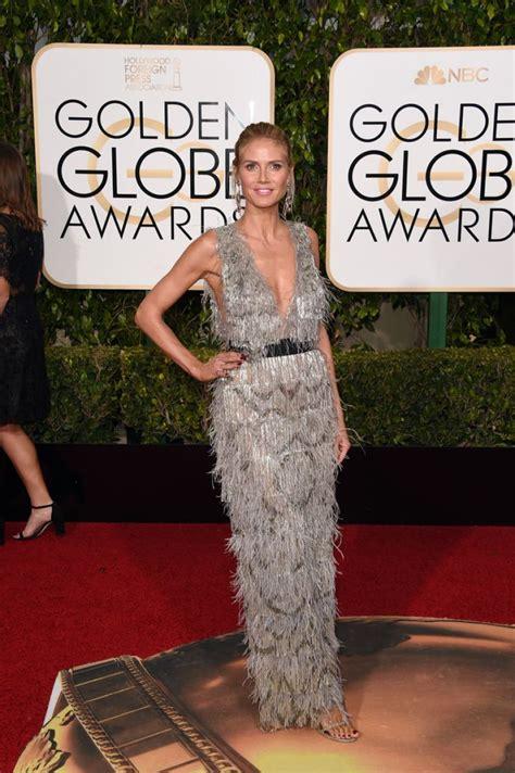 Heidi Klum Golden Globe Awards Beverly Hills