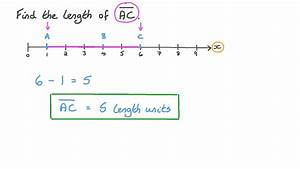 Video  Finding The Length Of A Line Segment On The Number