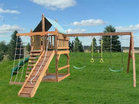 swing set plans ideas  pinterest wooden swing
