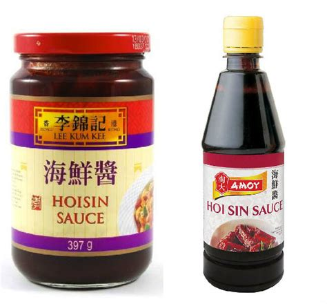 couleur dans une cuisine sauce hoisin