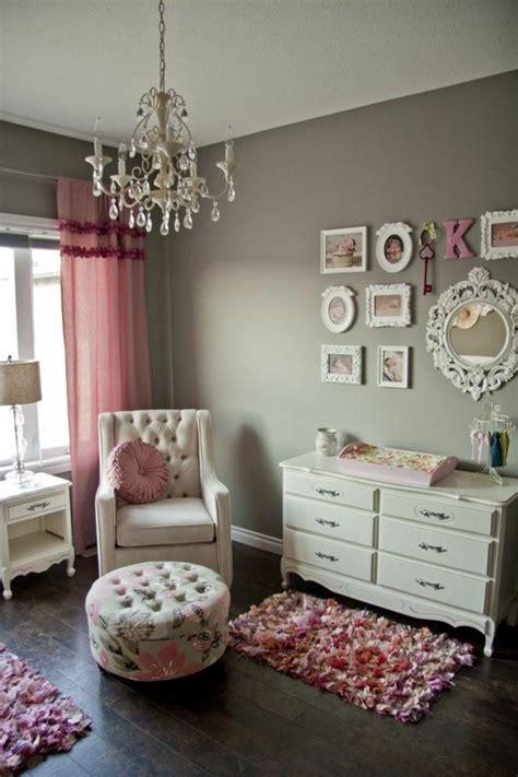chambre bébé fille moderne chambre bébé fille en gris et 27 belles idées à