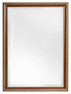 Große Spiegel Mit Rahmen : loano spiegel mit gro em goldorangefarbenem rahmen ~ Michelbontemps.com Haus und Dekorationen