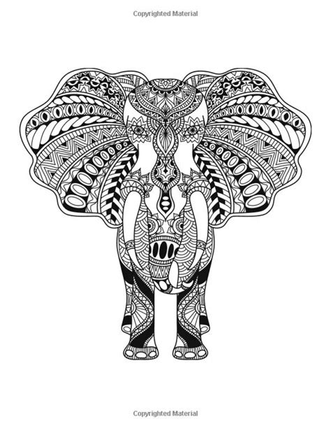 challenging coloring pages for adults get this challenging coloring pages of elephant for adults