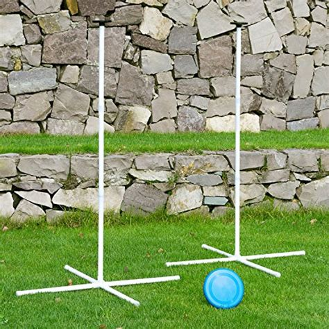 Backyard Frisbee - flying disc frisbee set with disc and pole disc