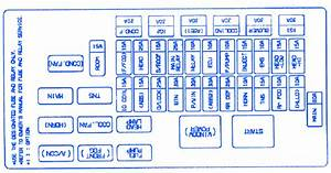 Kia Pregio 1998 Front Fuse Box  Block Circuit Breaker Diagram
