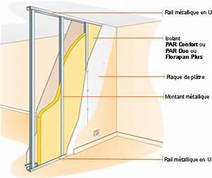 Poser Bloc Porte Entre 2 Murs : cloisons plafonds ~ Dailycaller-alerts.com Idées de Décoration