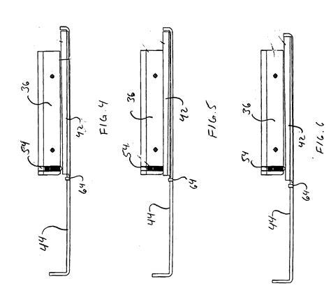 push bar door lock mechanism patent us20040189018 push bar locking mechanism with