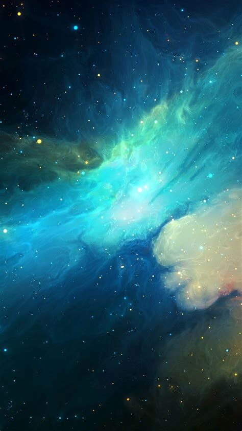 Wallpaper Iphone by Universe Nebula Galaxy Artwork Iphone Wallpaper Iphone