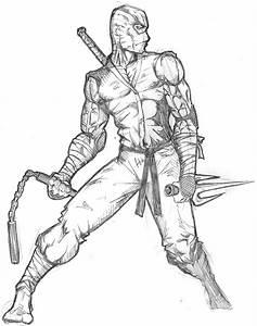 Ninja warrior by ntholden on DeviantArt