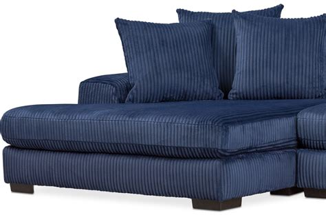 chaise navy lounge 2 sectional with left facing chaise navy