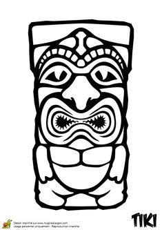Hawaii Coloring Pages To Print | Printable hawaiian