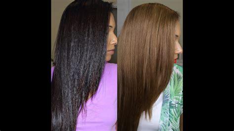 Dark To Light Hair For Summer