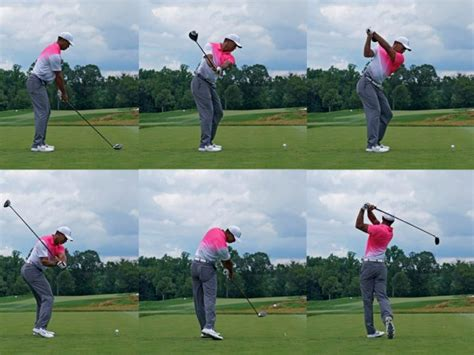 tiger woods swing tiger woods golf swing analysis 2018 open chionship