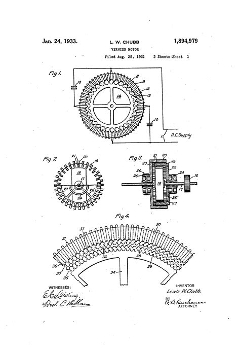 Patent US1894979 - Vernier motor - Google Patents