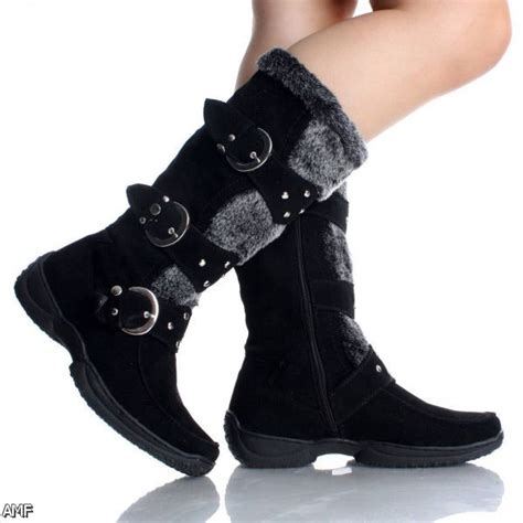 Black Winter Boots For Women Shopping Guide Are