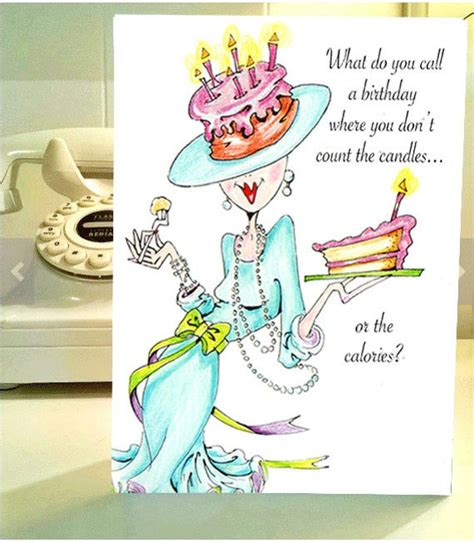 Check spelling or type a new query. Funny Birthday card funny women humor greeting cards for her